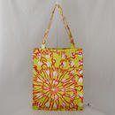 LC TOTE  -BUBBLE FLOWER- (YELLOW)