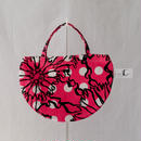 LC MINI R TOTE           -BUBBLE FLOWER- (PINK)