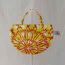 MINI R TOTE           -BUBBLE FLOWER- (YELLOW)