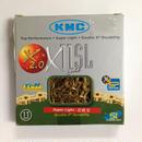 KMC X11SL Ti 軽量チェーン シマノ・カンパ11速用 ゴールド
