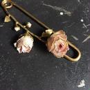 【限定一点】Lilaf お花のショールピン pink