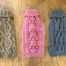LDハンドメイドケーブル編みセーター Sサイズ