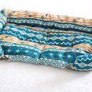 ベッドLサイズ(前段差なし)◆ethnic turquoise