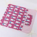 【オーダー】しろくまピンク☆キャリーハンモック・綿入り寝袋Mサイズ