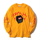 -THE BOX- L/S TEE (ORG)