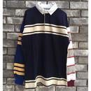 【COLUMBIA KNIT】1000pj practic rugby shirt  Mサイズ