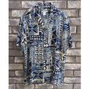 【TWO PALMS】 Hawaiian Shirt Honu Hale トゥーパームス ハワイアンシャツ  のコピー