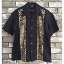 【STEADY CLOTHING】 Bowling Shirt Leopard  ステディ クロージング ボーリングシャツ レオパード