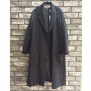 【pompon】Check Gown Coat