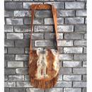 期間限定【E.V.T】Shoulder Bag w Fur Frap w Fringe