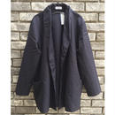 【B&B】 Uniform Serge Short Gown ビーアンドビー ユニフォーム セージ ショートガウン