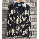 【NOMA t.d.】Splash Dyed Long Sleeve Shirt