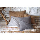 DRAPED CUSHION COVER(SQUAE)-BRITISH WOOL TWEED