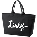 LINKY LOGO Big Toto Bag  (Black)