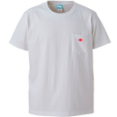 Wappen Pocket T-shirt (White×Red Wappen) <<WEB STORE限定>>