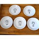 【tomopecco】〈ふろしき女の子〉小皿