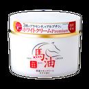 リシャン 馬油ホワイトプレミアムクリーム(ゆずの香り)