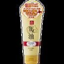 リシャン 馬油&炭洗顔フォーム(さくらの香り)