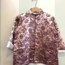 【USED】Dragon print Dusty pink China jacket