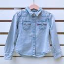 262.【USED】'Levi's' hickory longsleeve Shirts
