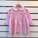 327.【USED】Pink  Flower Jacket