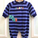 【USED】The very hungry caterpillar Romper / blue