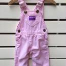 "【USED】""OSHKOSH""corduroy pastel pink overall"