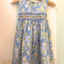 【USED】Blue flower motif Dress