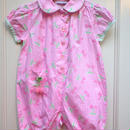 【USED】Pink Cherry Rompers