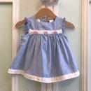 510.【USED】Blue Rose  Dress