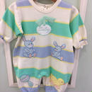 【USED】Two rabbit Rompers