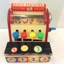 """190.【USED】Vintage """"Fisher-price"""" Cash Register(Made in U.S.A.)"""