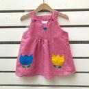 【USED】Tulip design Jumper skirt