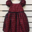 102.【USED】Red Lame Formal Dress