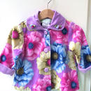 【USED】Flower print Coat jacket