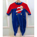 308.【USED】Red & Blue bear Flight Rompers