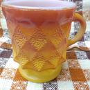 "【USED】Vintage ""Fire King"" Kimberly Mug"