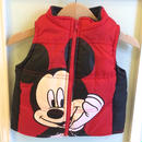 "【USED】""Mickey"" motif Vest"