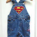 【USED】Superman Short Overall