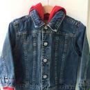 """【USED】""""Levi's"""" Hoodie Denim Jacket"""