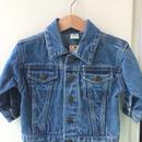 """【USED】""""Sesame Street"""" Denim jacket"""