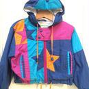 【USED】Star motif Nylon jacket