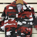 88.【USED】Red  camouflage  Jacket( made in U.S.A.)