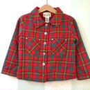 【USED】Red check Jacket
