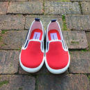 "【NEW】""Champion"" Slip-on Shoes / Red&Navy"