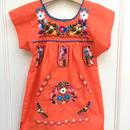 【USED】Orange ethnic dress