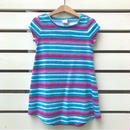 【USED】'GYMBOREE' Blue×Purple design Dress