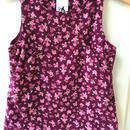 【USED】Flower motif purple Dress