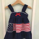 【USED】American motif Dress