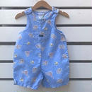 507.【USED】Carters Play Bear Rompers